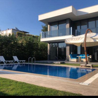 Ultra Luxury Last Left Villa in Kusadasi with Full Sea View