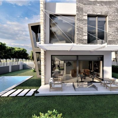 2 Single Detached Villas For Sale With A Magnificent Concept In Kusadasi Karaova