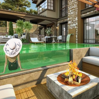"""Our project that won the """"World 2nd Place in Villa Architecture"""" in Kuşadası London"""